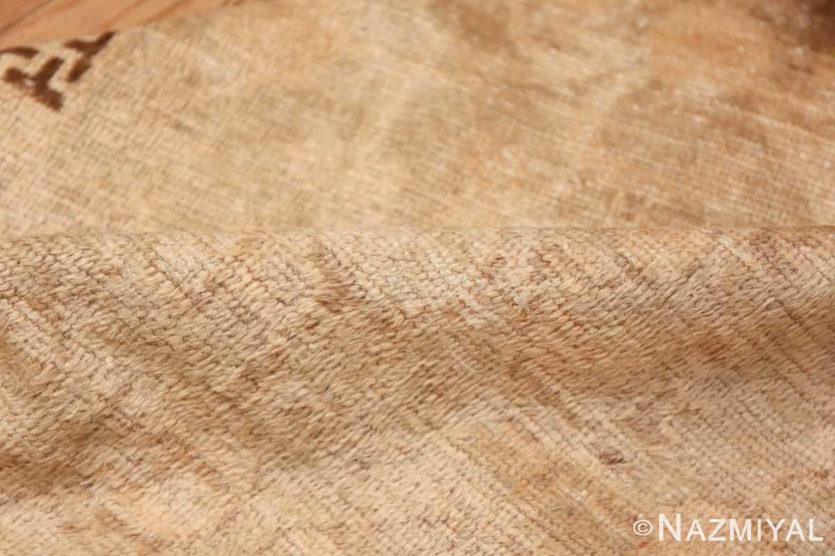 Antique East Turkestan Khotan Rug 50142 Shiny Pile Nazmiyal