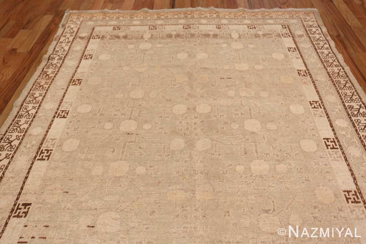 Antique East Turkestan Khotan Rug 50142 Top Design Nazmiyal