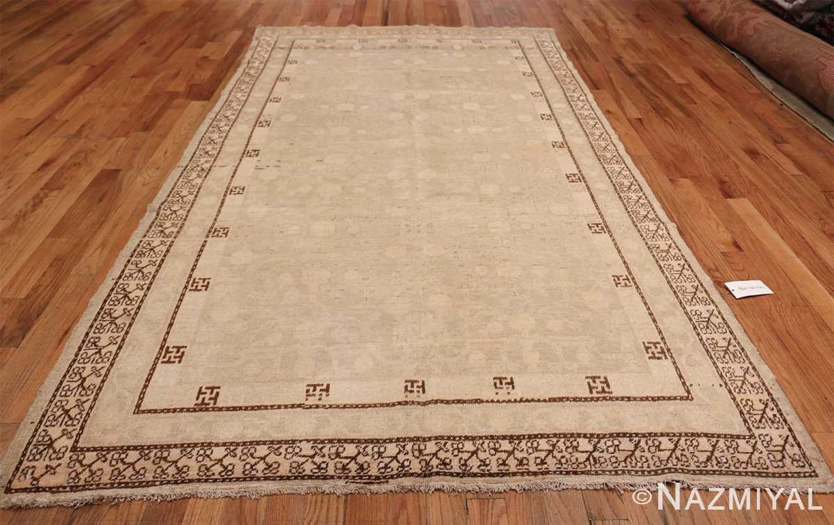 Antique East Turkestan Khotan Rug 50142 Whole Design Nazmiyal