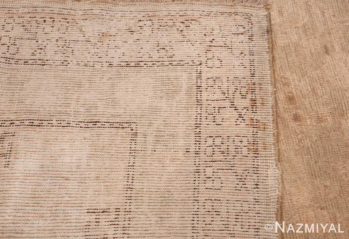 Antique East Turkestan Khotan Rug 50142 Woven Knots Nazmiyal