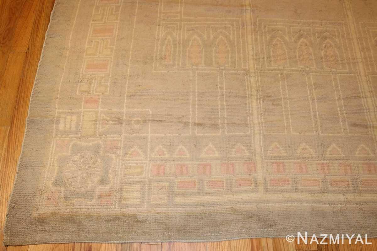antique french deco rug 50089 border Nazmiyal