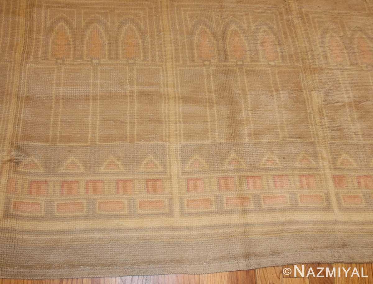 antique french deco rug 50089 field Nazmiyal