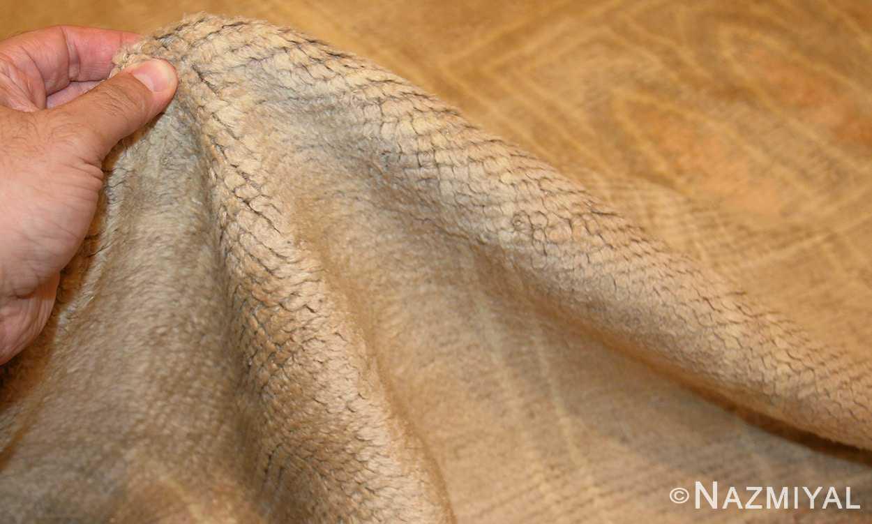 antique french deco rug 50089 pile Nazmiyal