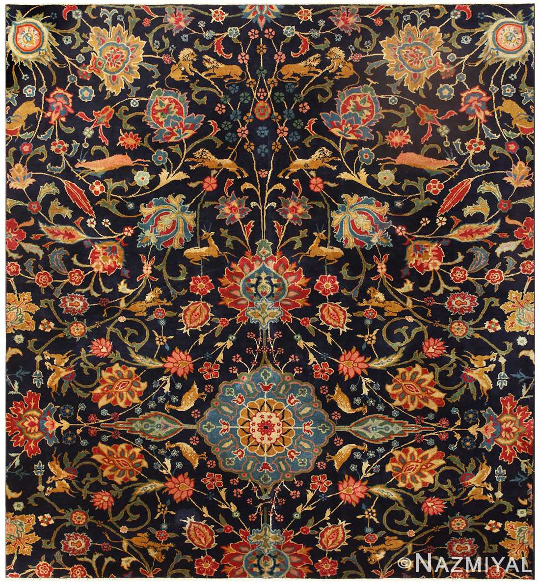 Antique Indian Agra Rug 48294 Detail/Large View