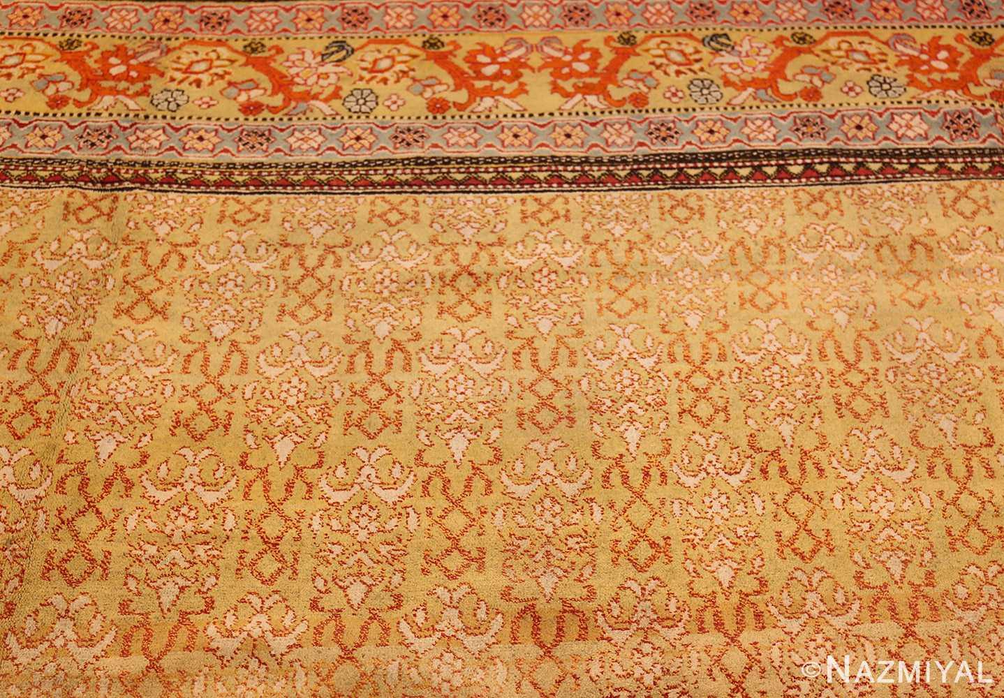 antique indian agra rug 50070 top Nazmiyal