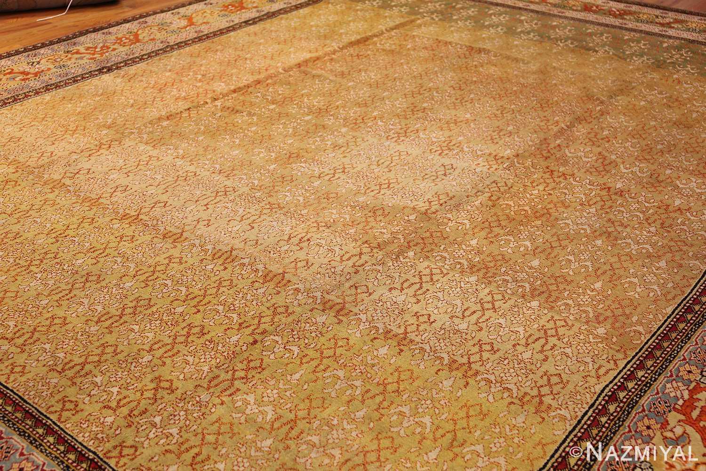 antique indian agra rug 50070 whole Nazmiyal