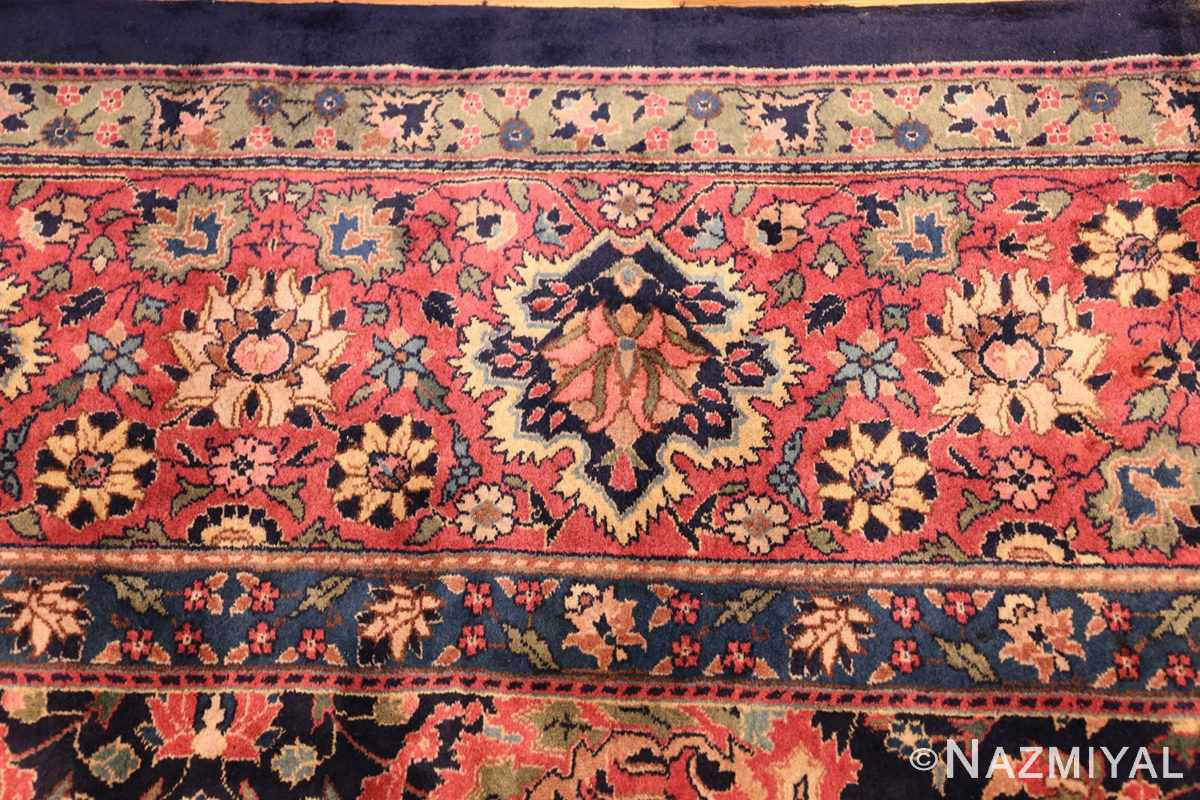 antique indian rug 50024 border Nazmiyal