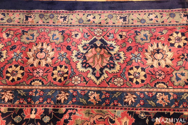 antique indian rug 50024 border Nazmiyal