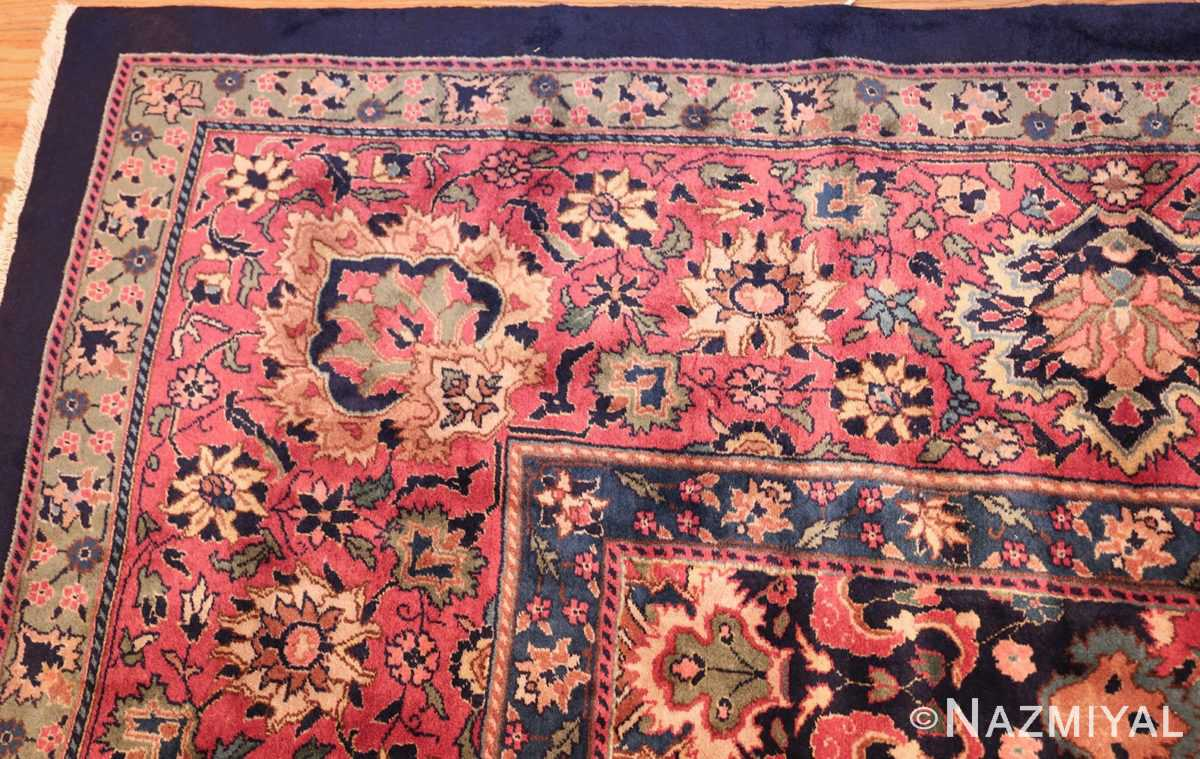 antique indian rug 50024 corner Nazmiyal