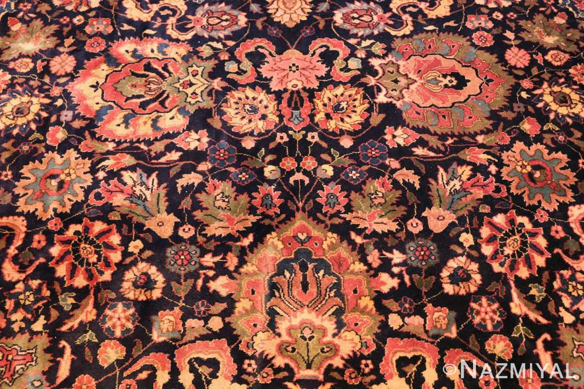 antique indian rug 50024 field Nazmiyal