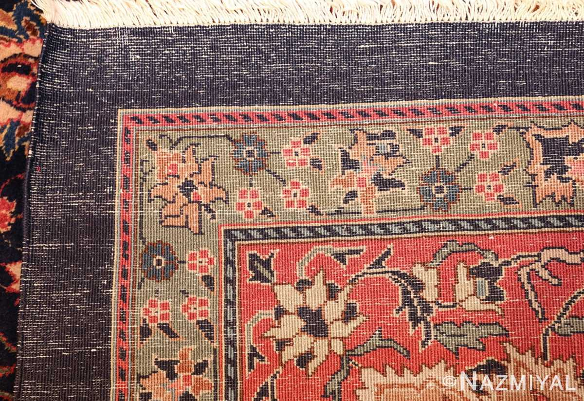 antique indian rug 50024 weave Nazmiyal