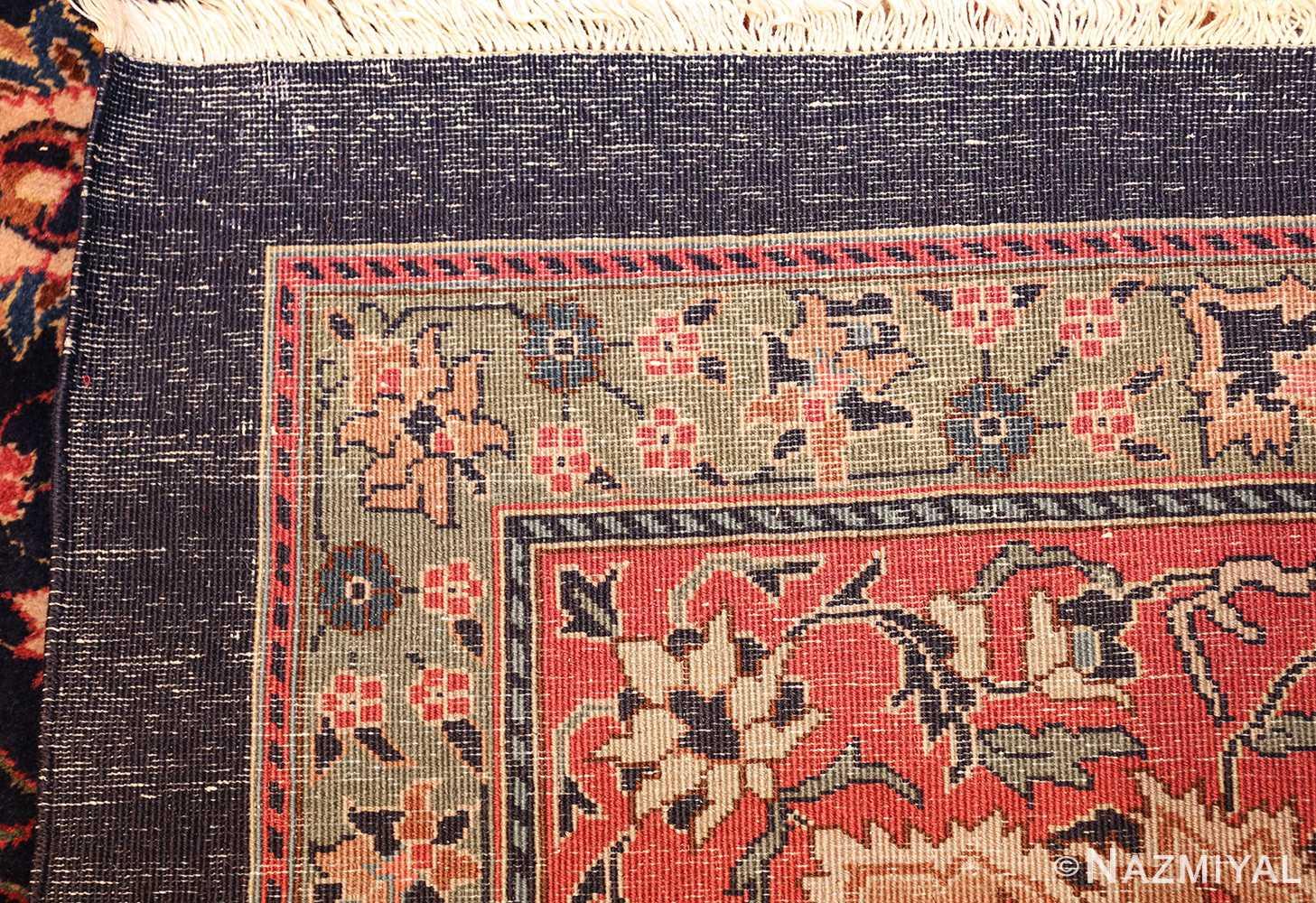 antique indian rug 50024 weave Nazmiyal