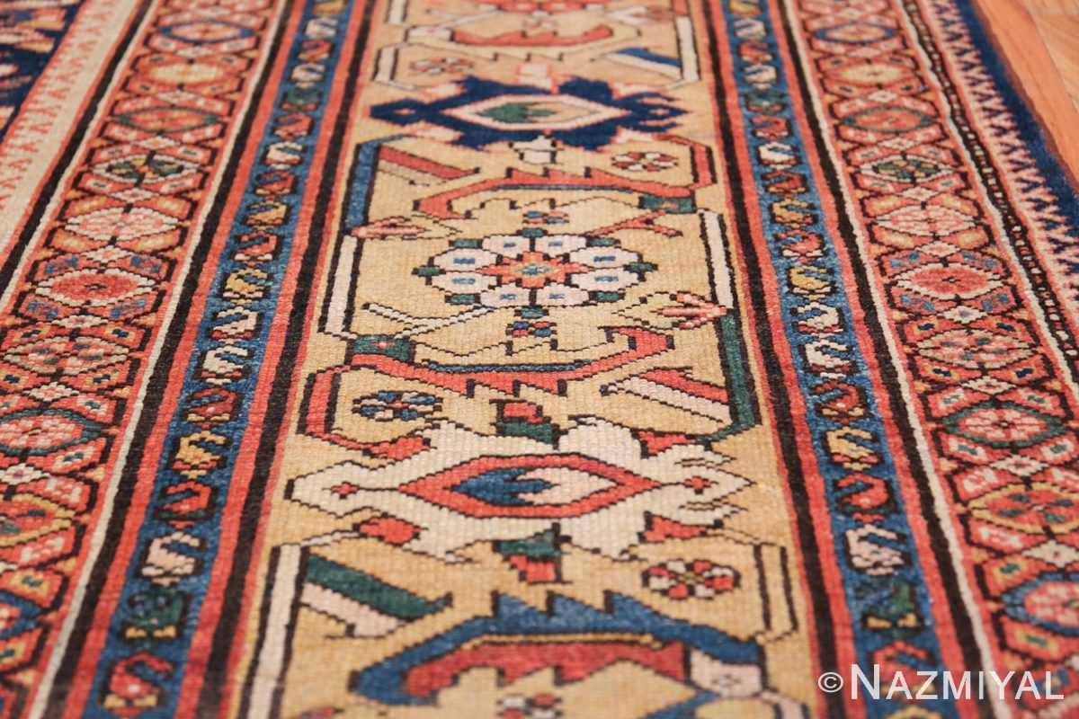 Antique Oversized Persian Sultanabad Rug 50145 Border Design Nazmiyal