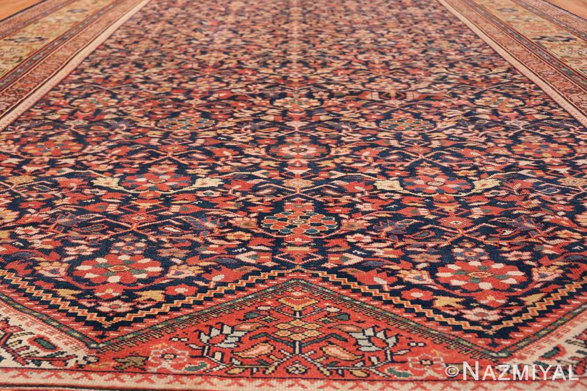 Antique Oversized Persian Sultanabad Rug 50145 Field Floral Nazmiyal