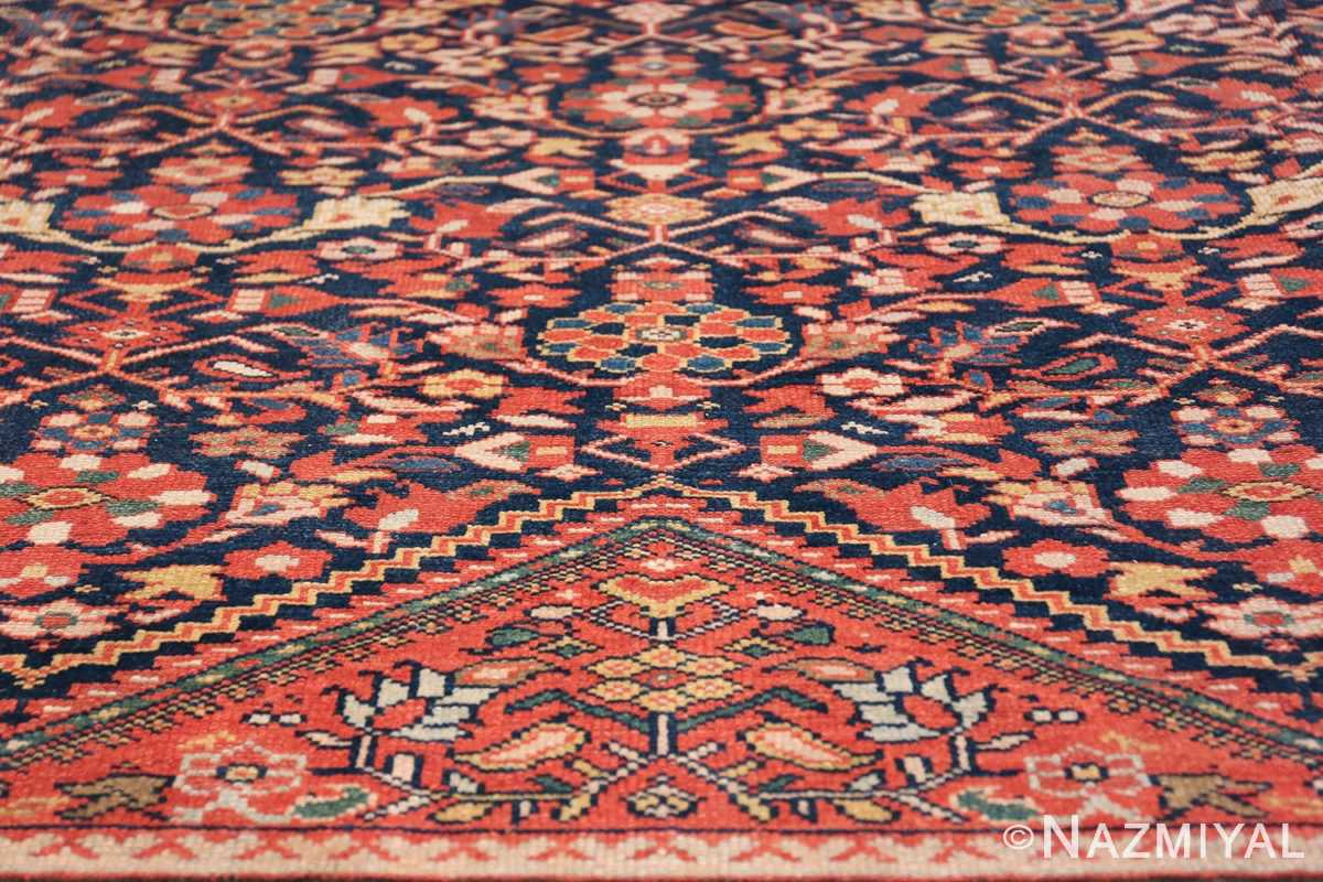 Antique Oversized Persian Sultanabad Rug 50145 Red Triangle Nazmiyal