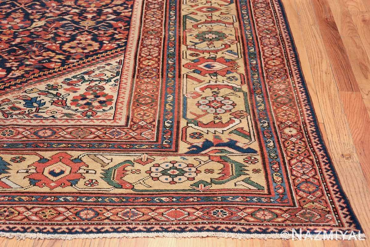 Antique Oversized Persian Sultanabad Rug 50145 Side Corner Nazmiyal