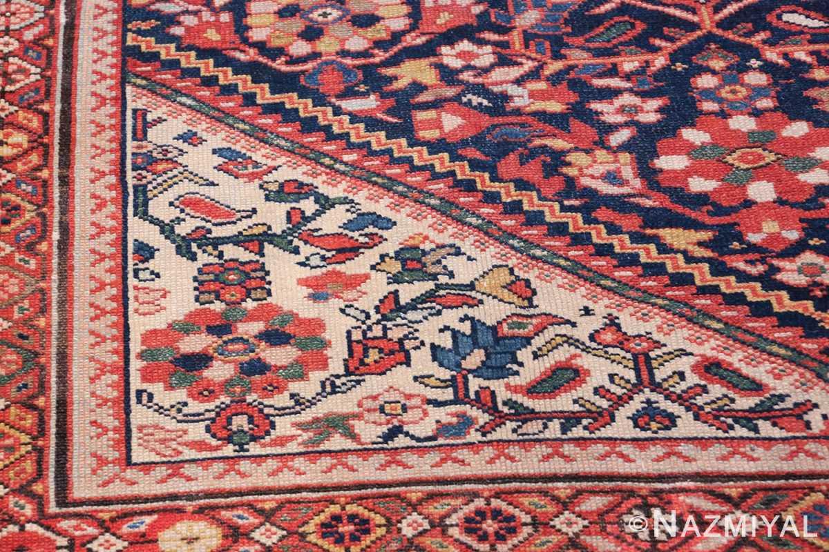 Antique Oversized Persian Sultanabad Rug 50145 Side Design Nazmiyal