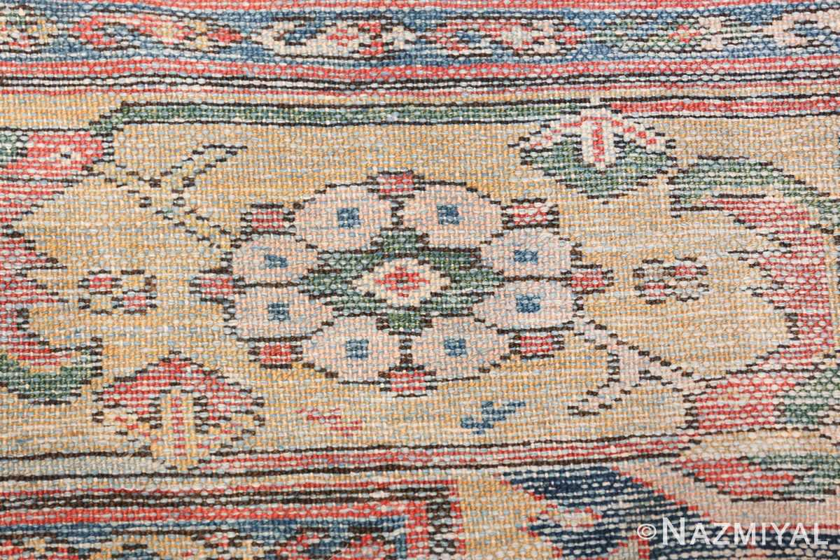 Antique Oversized Persian Sultanabad Rug 50145 Woven Knots Nazmiyal