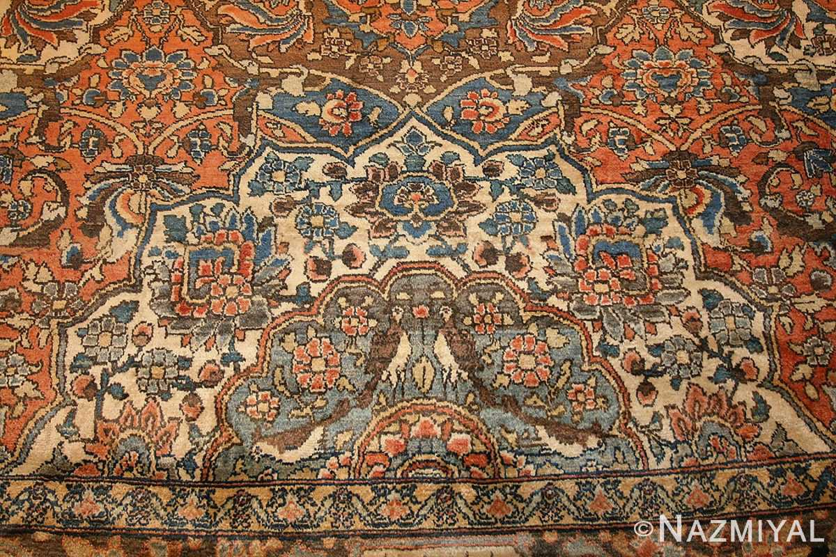 antique persian bakhtiari rug 50103 design Nazmiyal