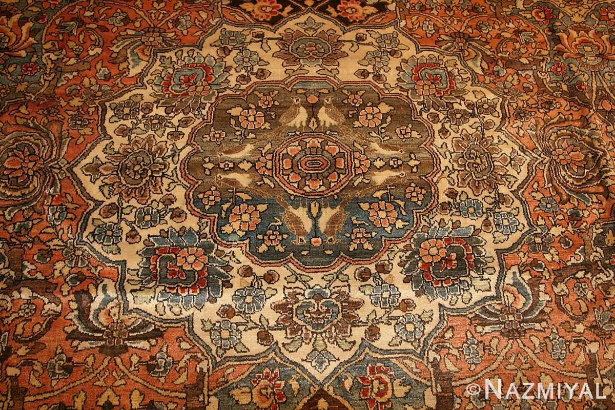 antique persian bakhtiari rug 50103 medallion Nazmiyal