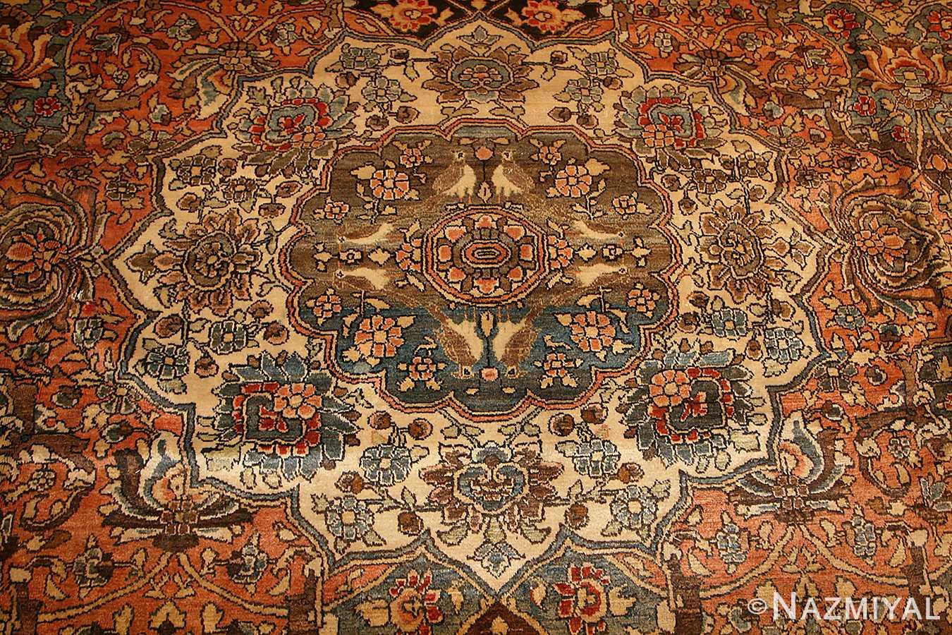 antique persian bakhtiari rug 50103 medallion Nazmiyal