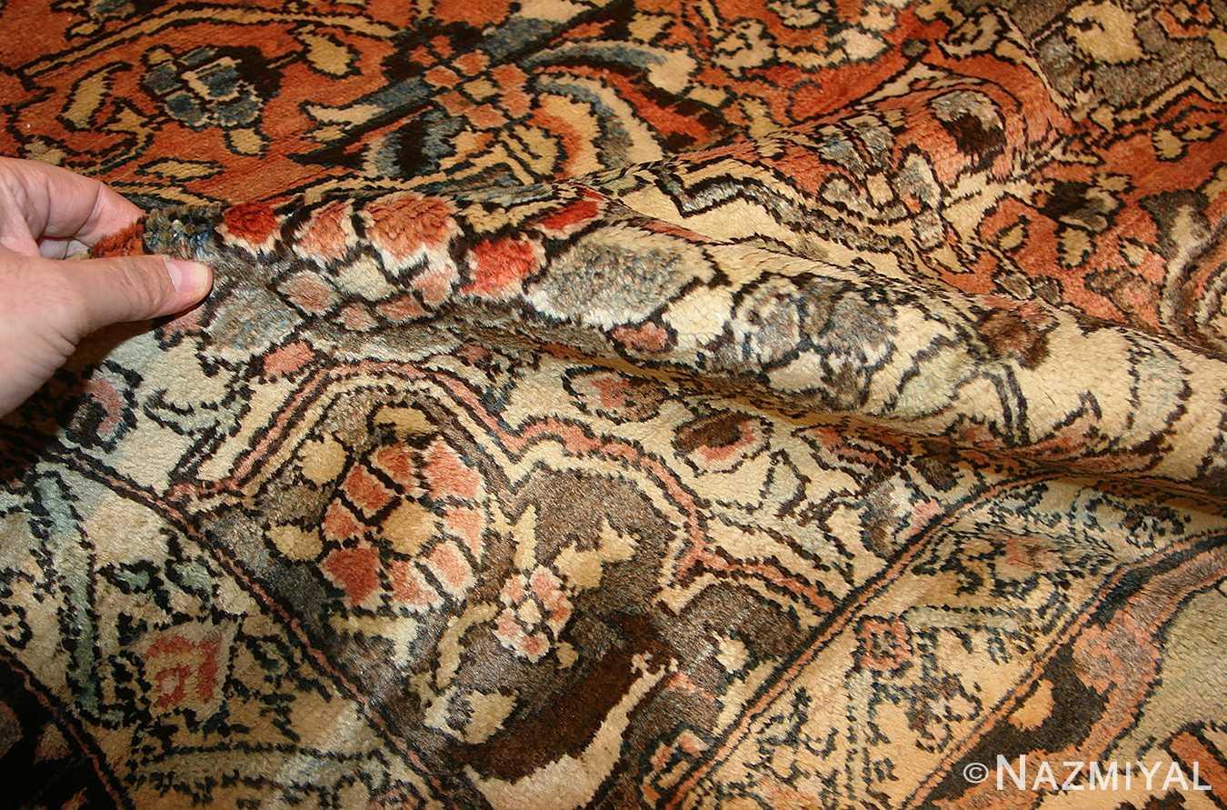 antique persian bakhtiari rug 50103 pile Nazmiyal