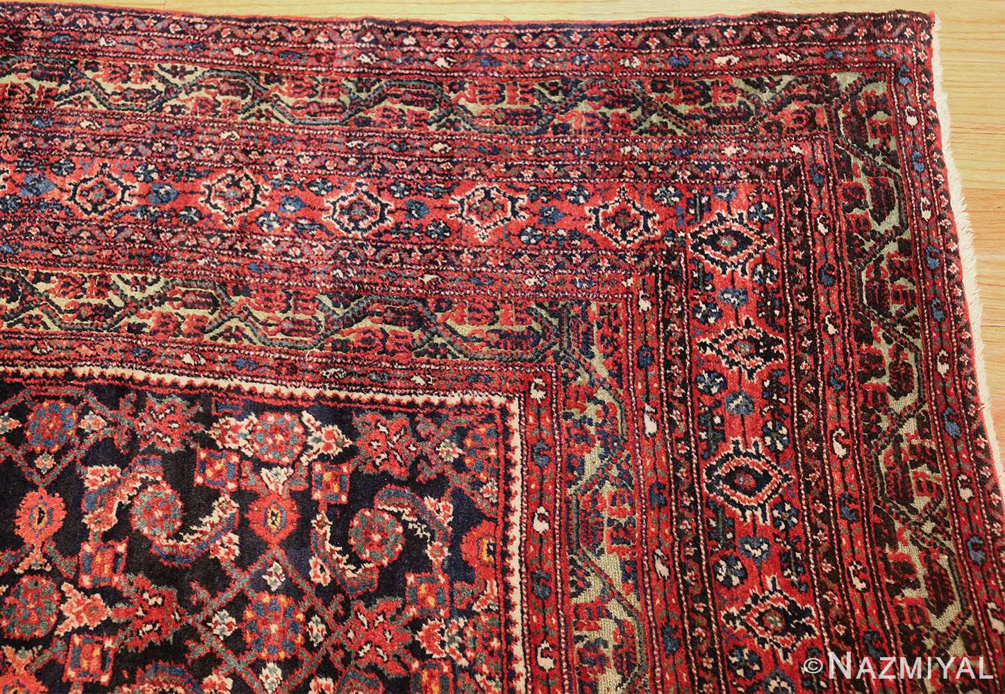 antique persian farahan rug 50076 corner Nazmiyal