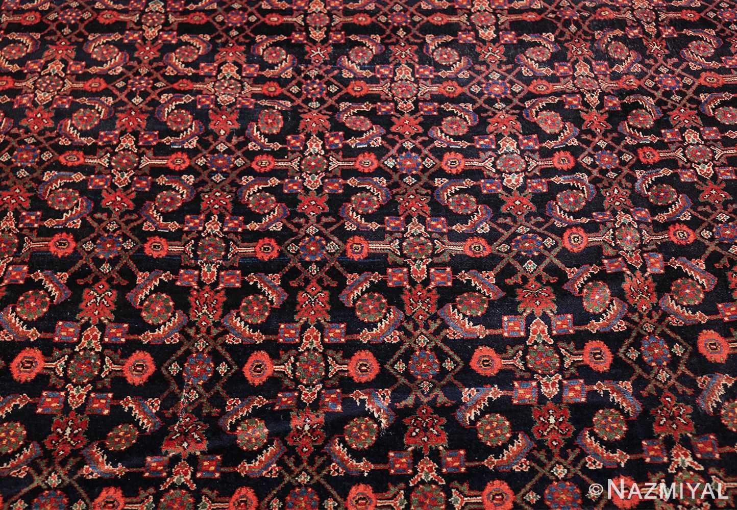 antique persian farahan rug 50076 field Nazmiyal