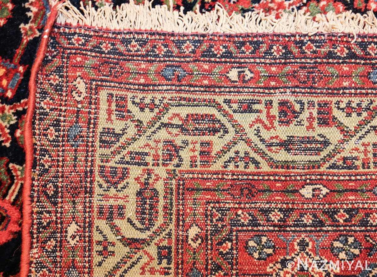 antique persian farahan rug 50076 weave Nazmiyal