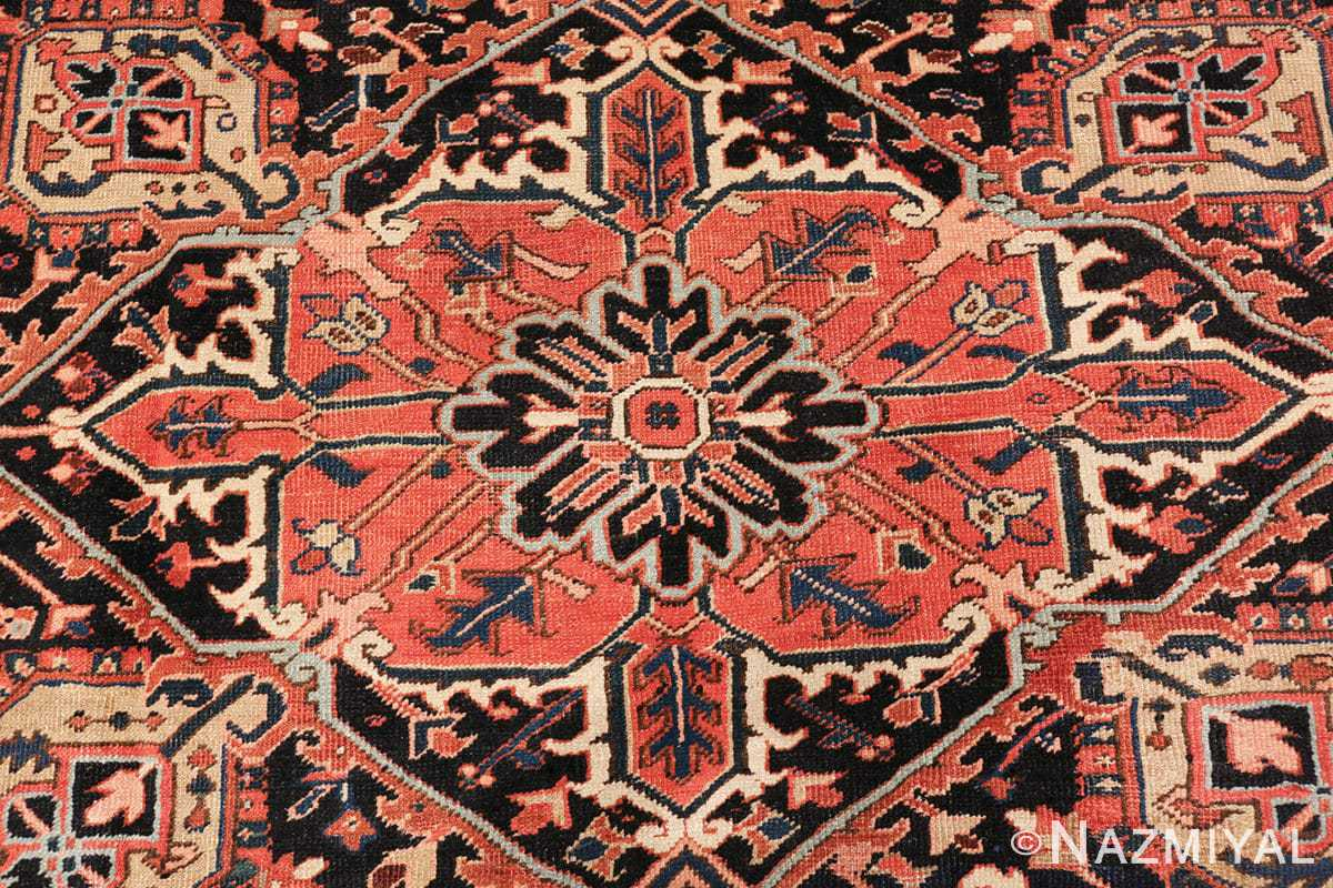 antique persian heriz rug 48318 middle Nazmiyal