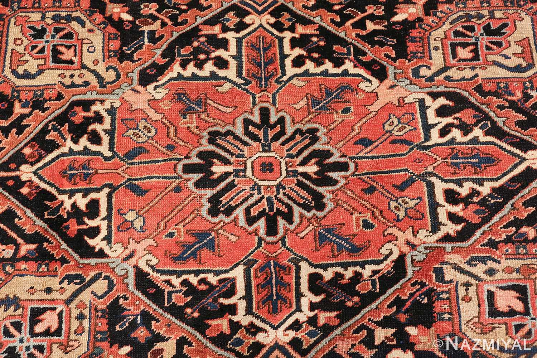 antique persian heriz rug 48318 middle Nazmiyal