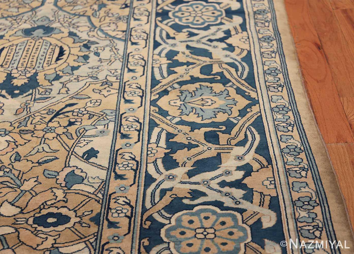 Antique Persian Kerman Carpet 50099 Border Design Nazmiyal