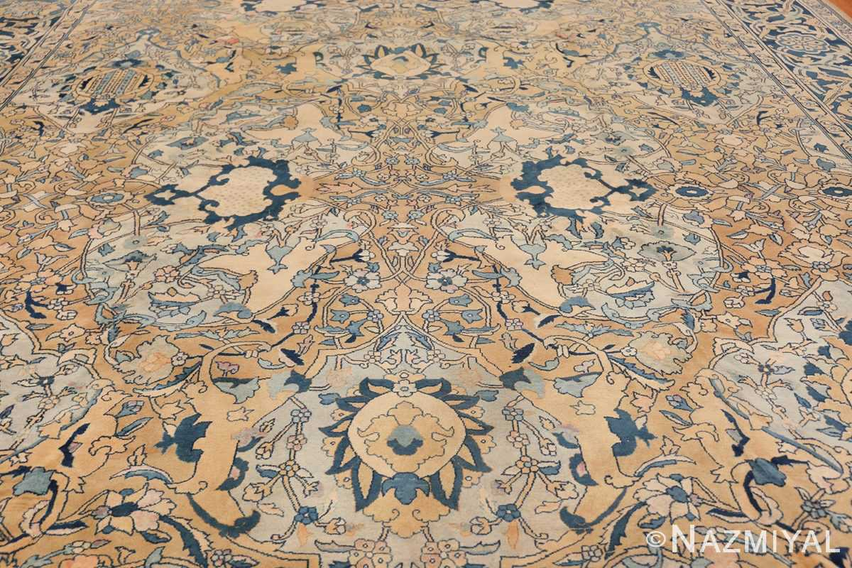 Antique Persian Kerman Carpet 50099 Central Medallion Nazmiyal