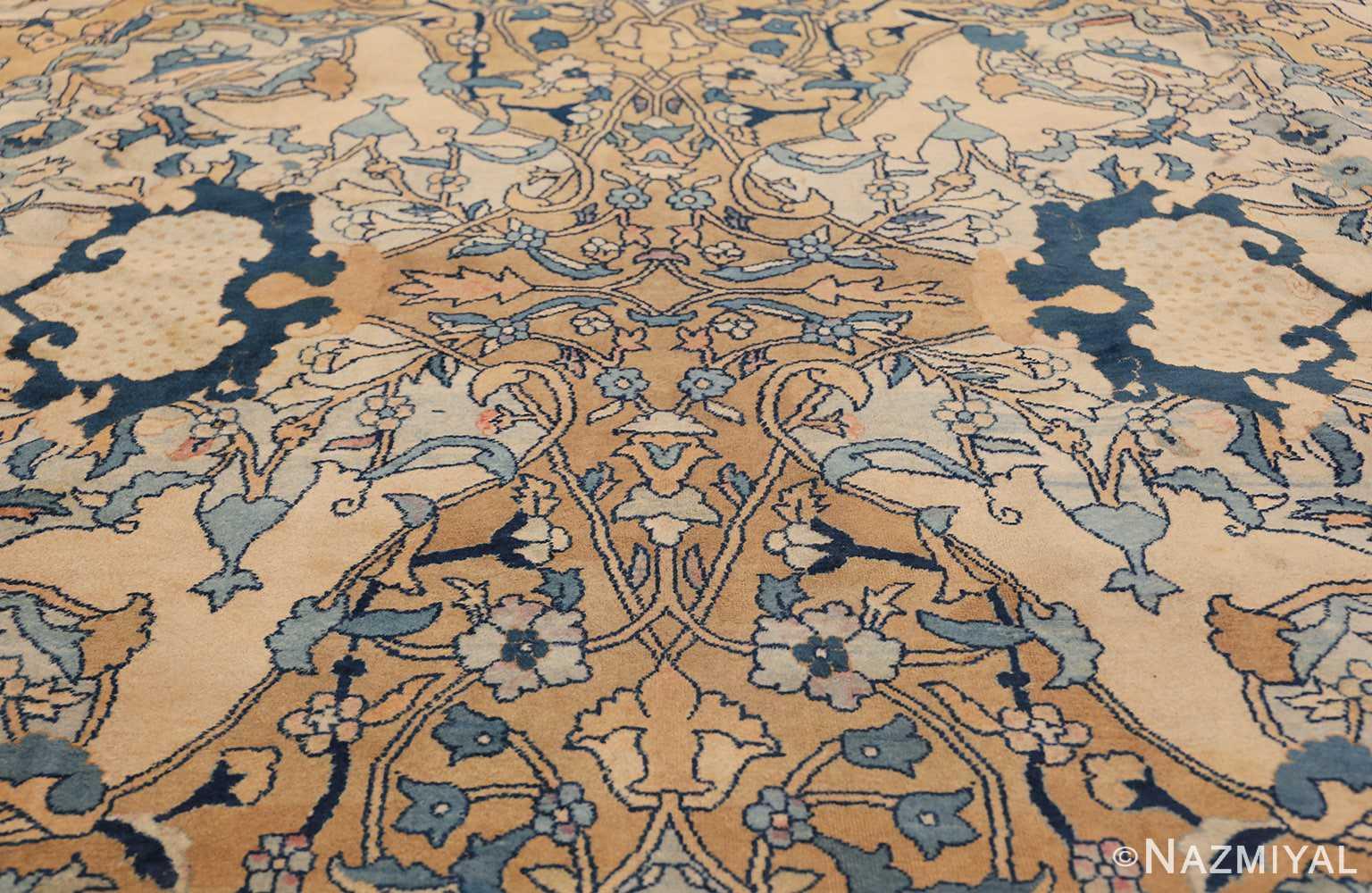 Antique Persian Kerman Carpet 50099 Tiny Scrolls Nazmiyal