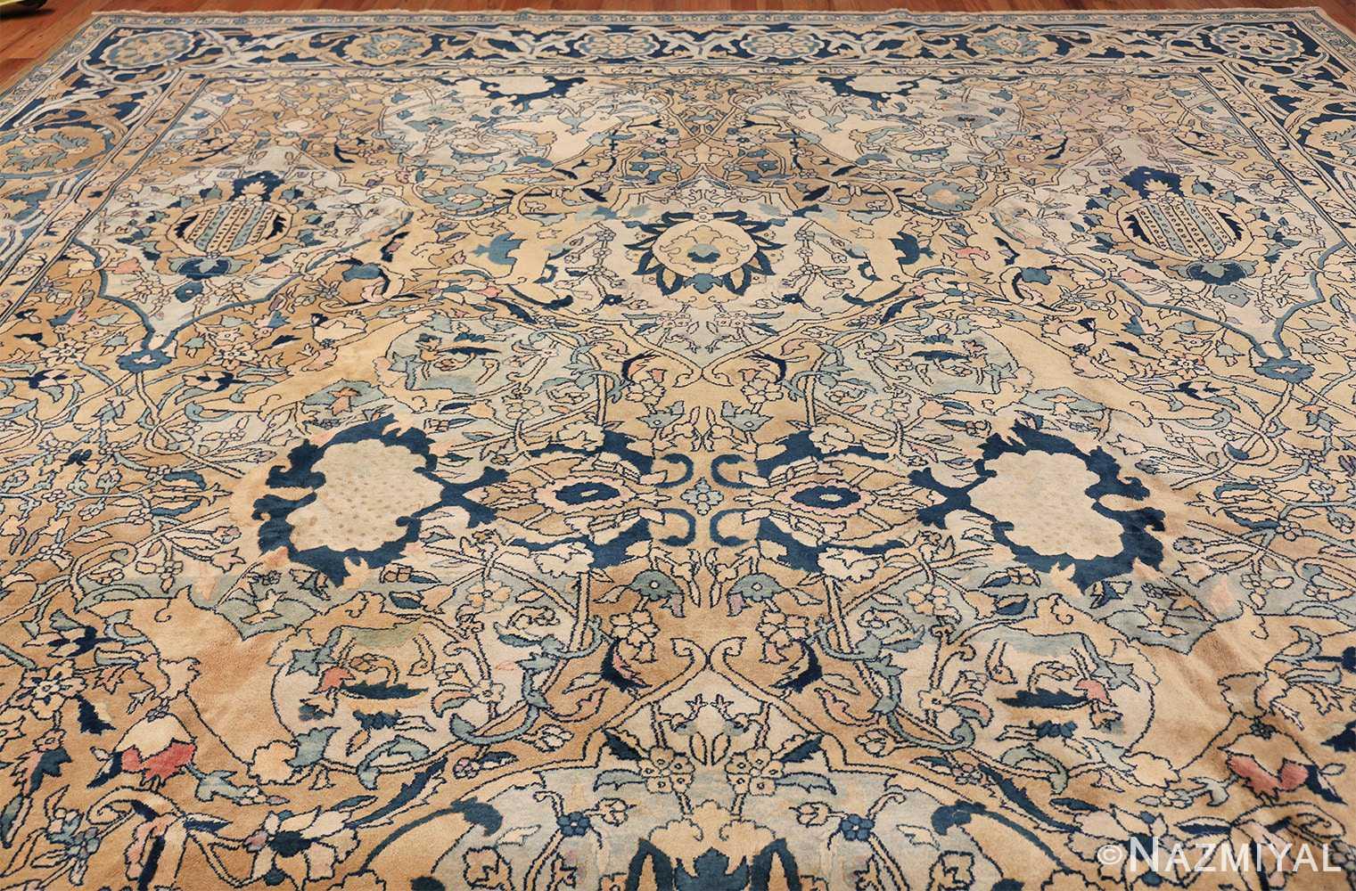 Antique Persian Kerman Carpet 50099 Top Design Nazmiyal