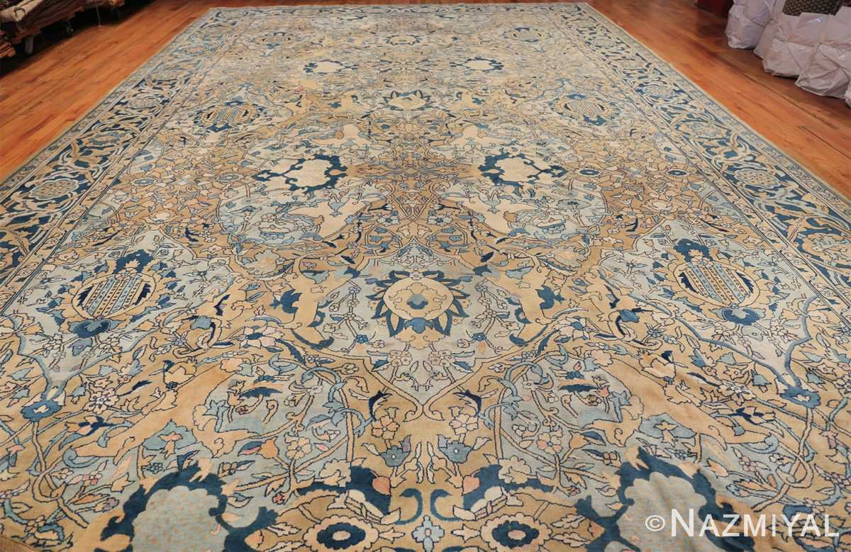 Antique Persian Kerman Carpet 50099 Whole Design Nazmyal