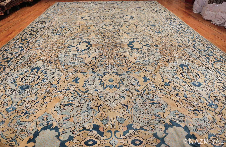 Antique Persian Kerman Carpet 50099 Whole Design Nazmyal