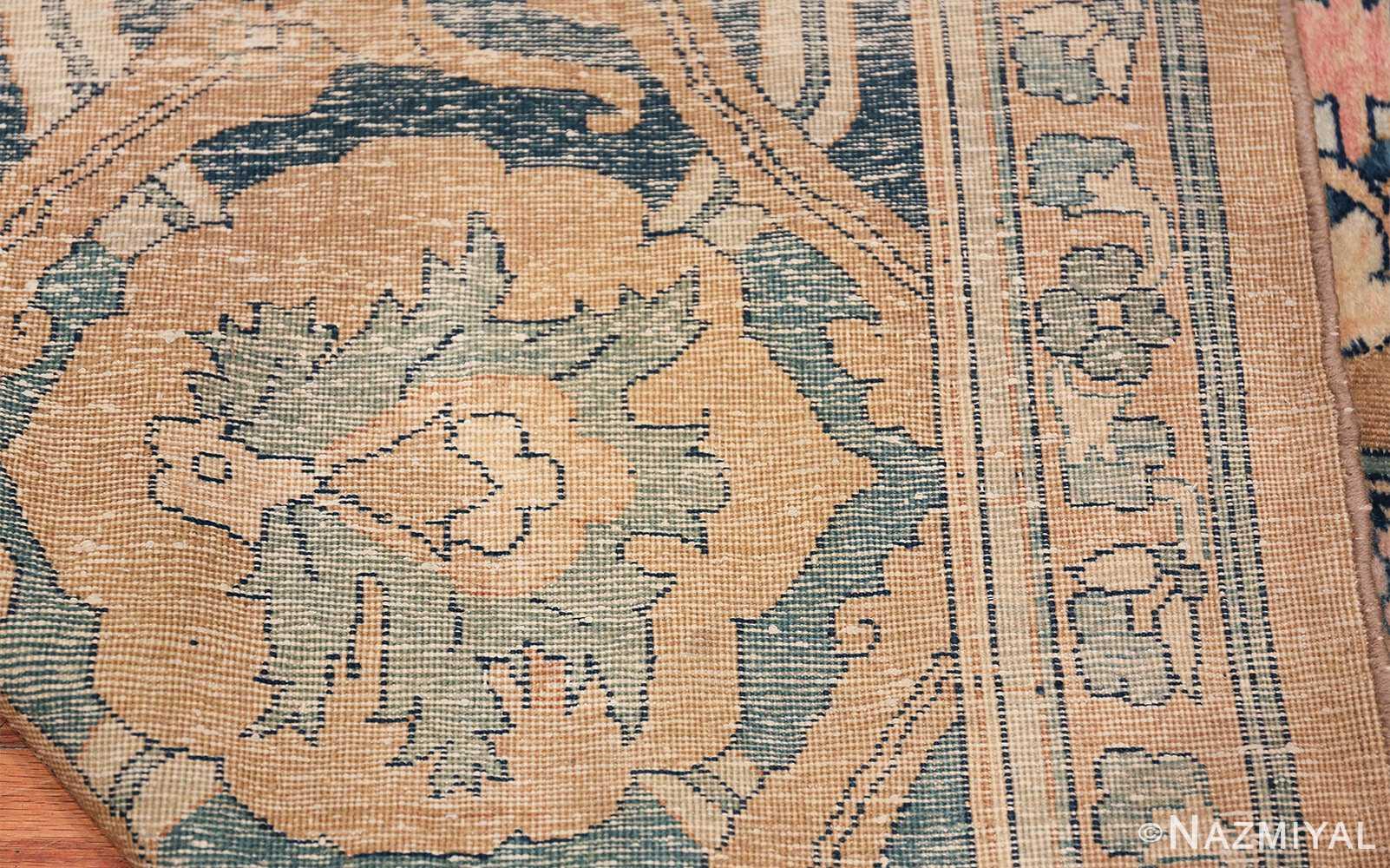 Antique Persian Kerman Carpet 50099 Woven Knots Nazmiyal