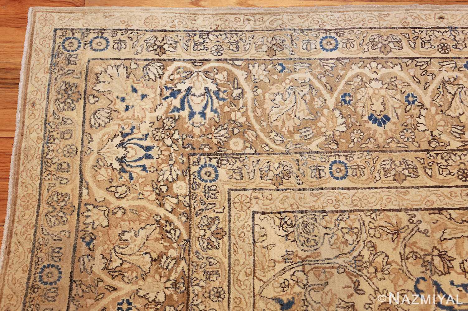 antique persian kerman rug 47869 corner Nazmiyal