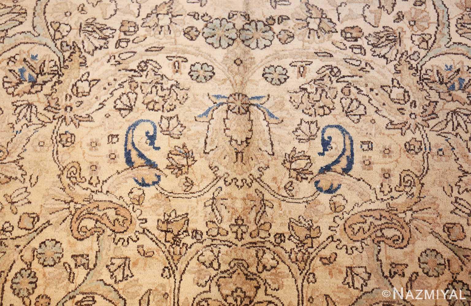 antique persian kerman rug 47869 pattern Nazmiyal