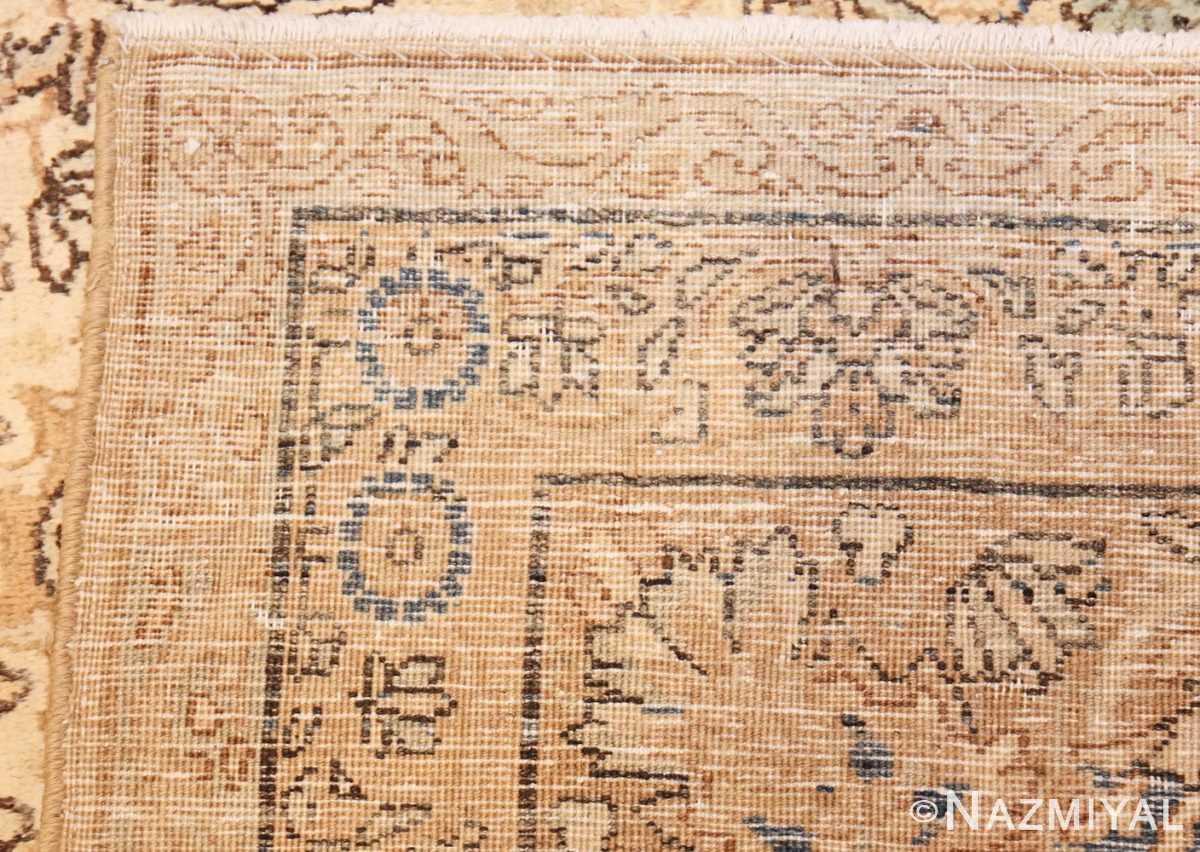 antique persian kerman rug 47869 weave Nazmiyal