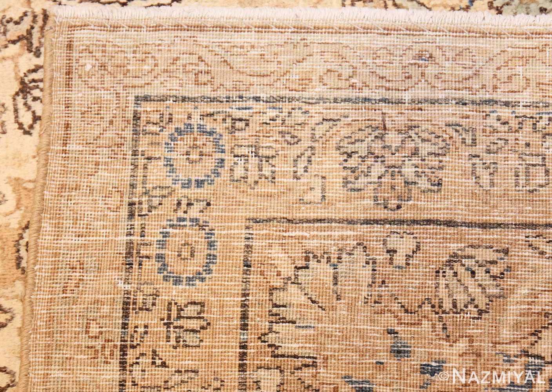 antique persian kerman rug 47869 weave Nazmiyal