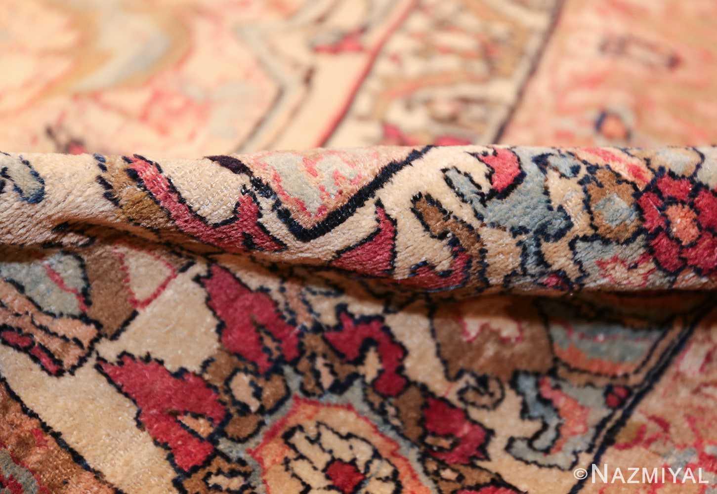 antique persian kerman rug 50106 pile Nazmiyal