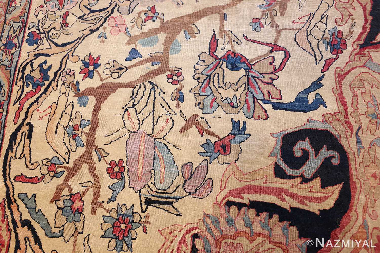 antique persian kerman rug 50106 side Nazmiyal