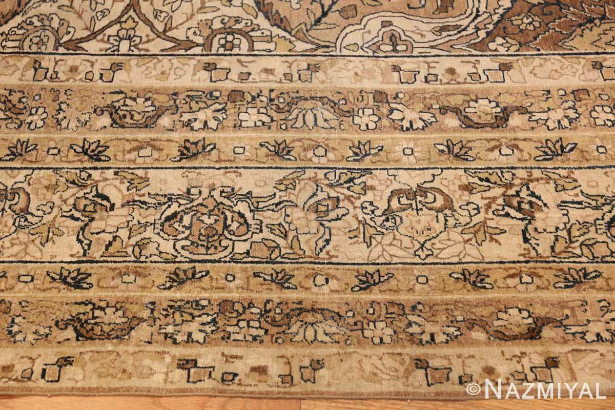 antique persian kerman rug 50147 border Nazmiyal
