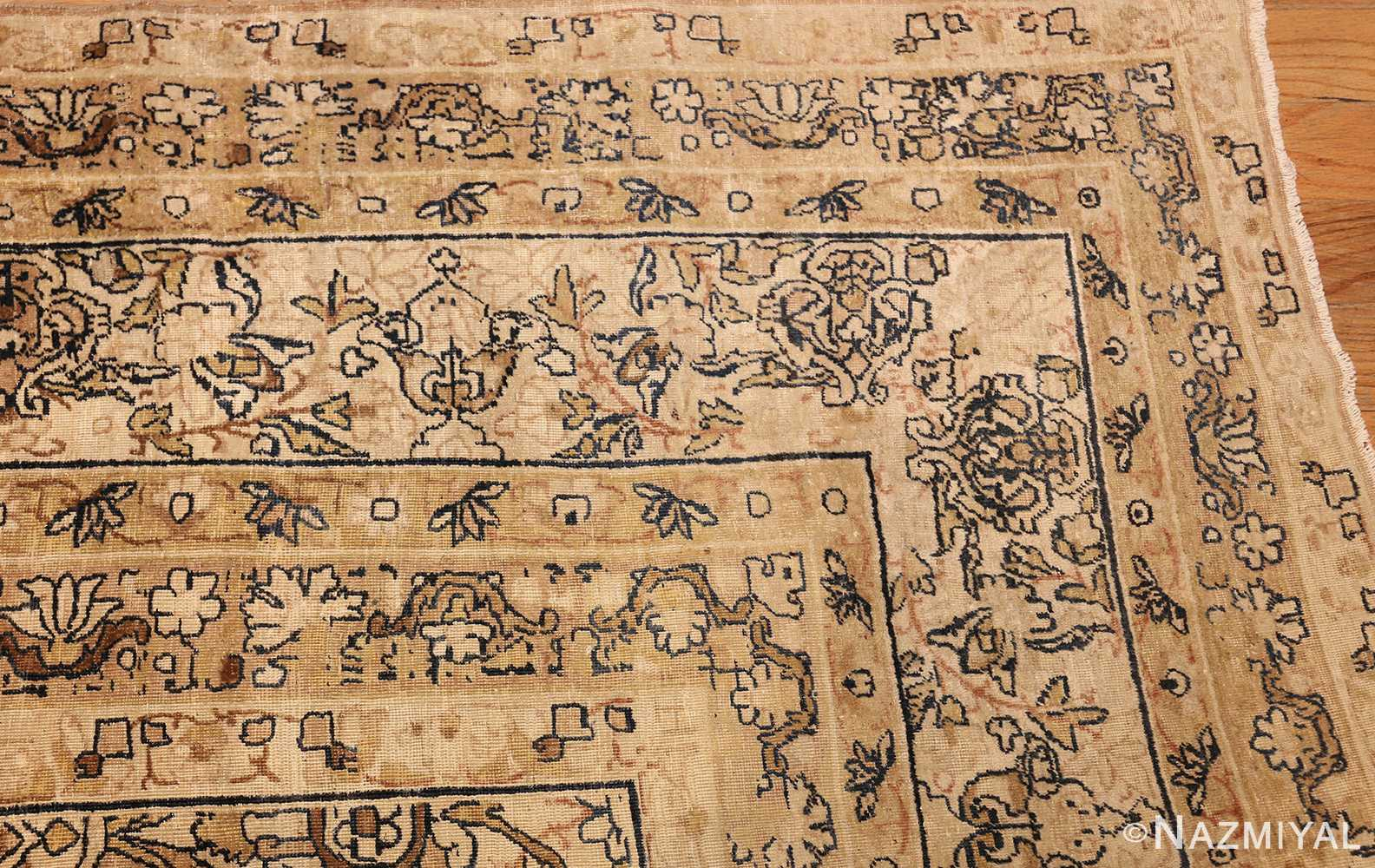 antique persian kerman rug 50147 corner Nazmiyal