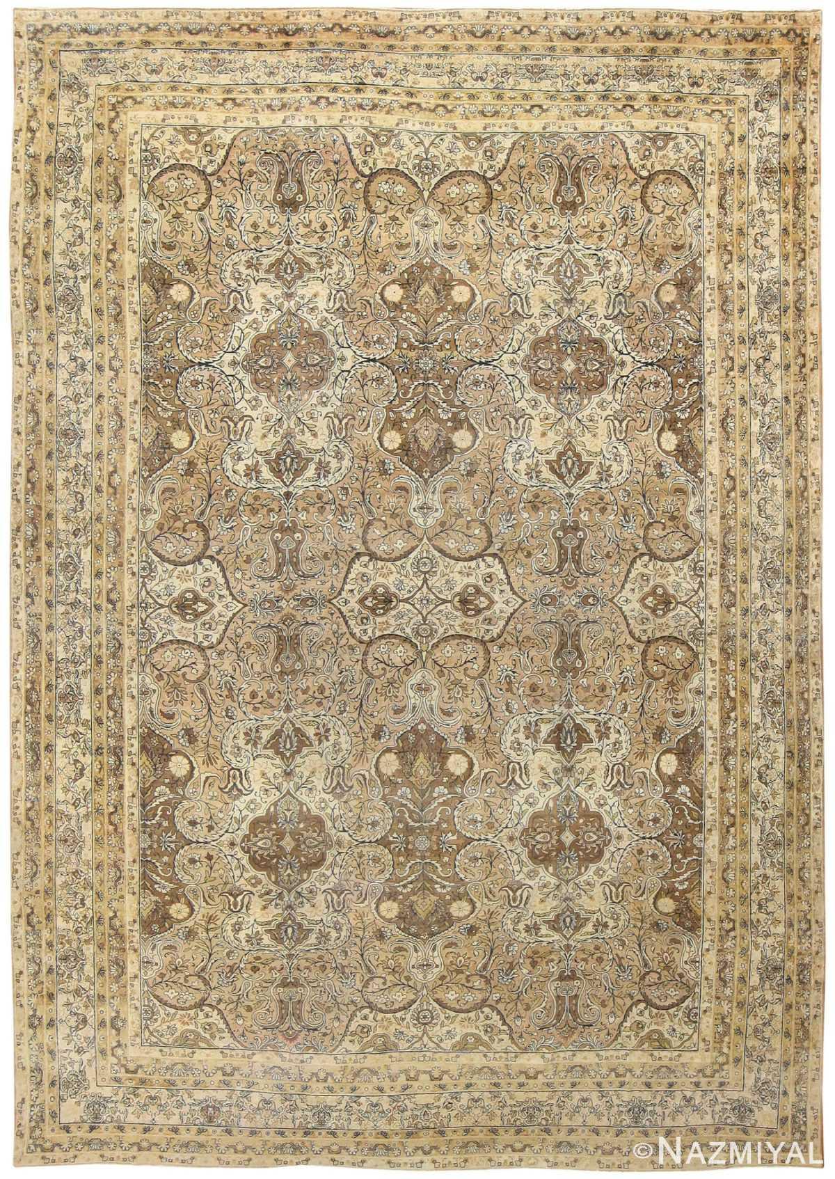 Antique Persian Kerman Rug 50147 Detail/Large View