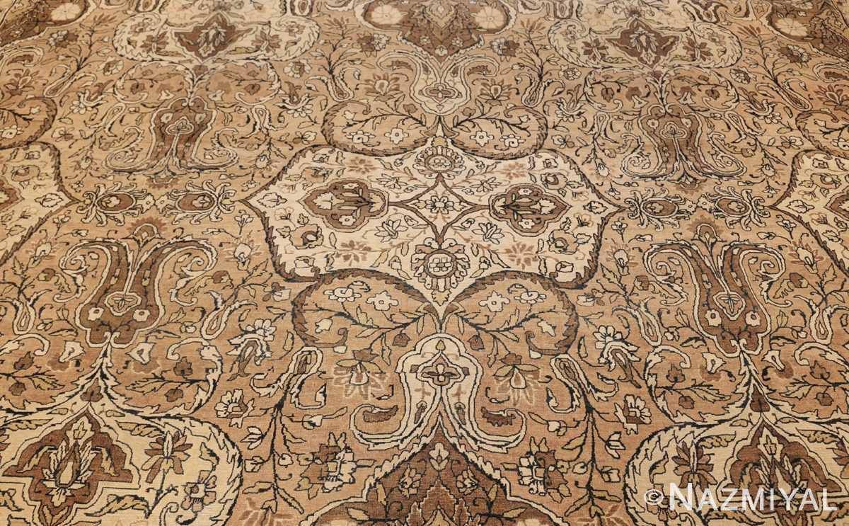 antique persian kerman rug 50147 field Nazmiyal