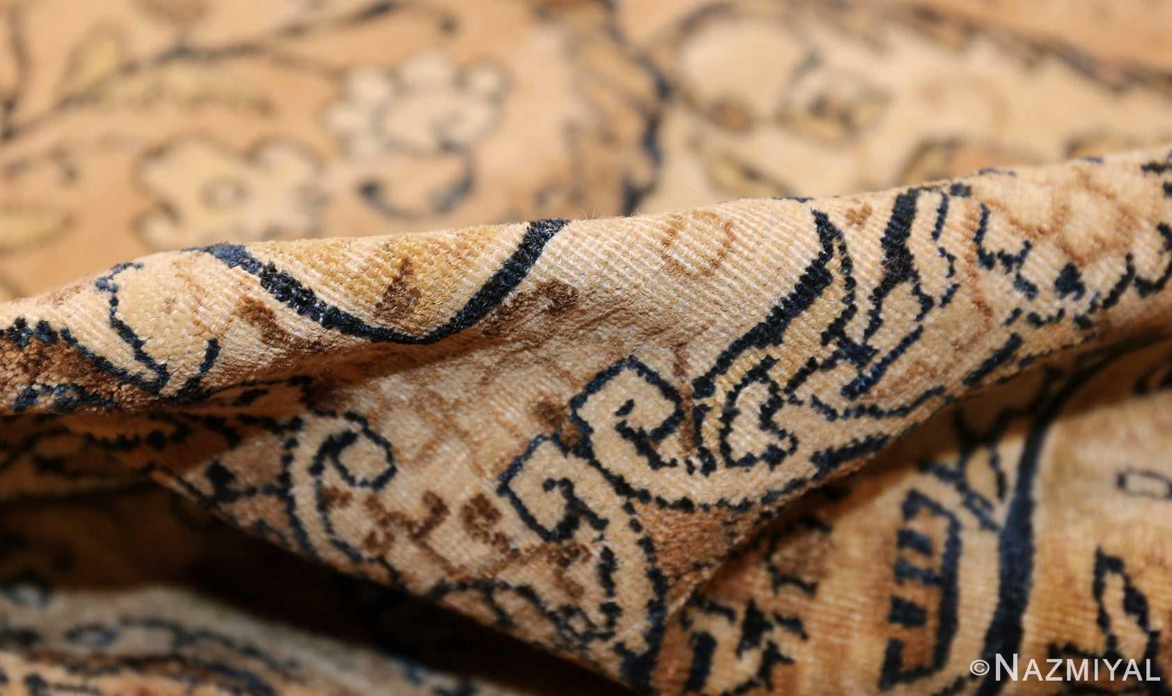 antique persian kerman rug 50147 pile Nazmiyal