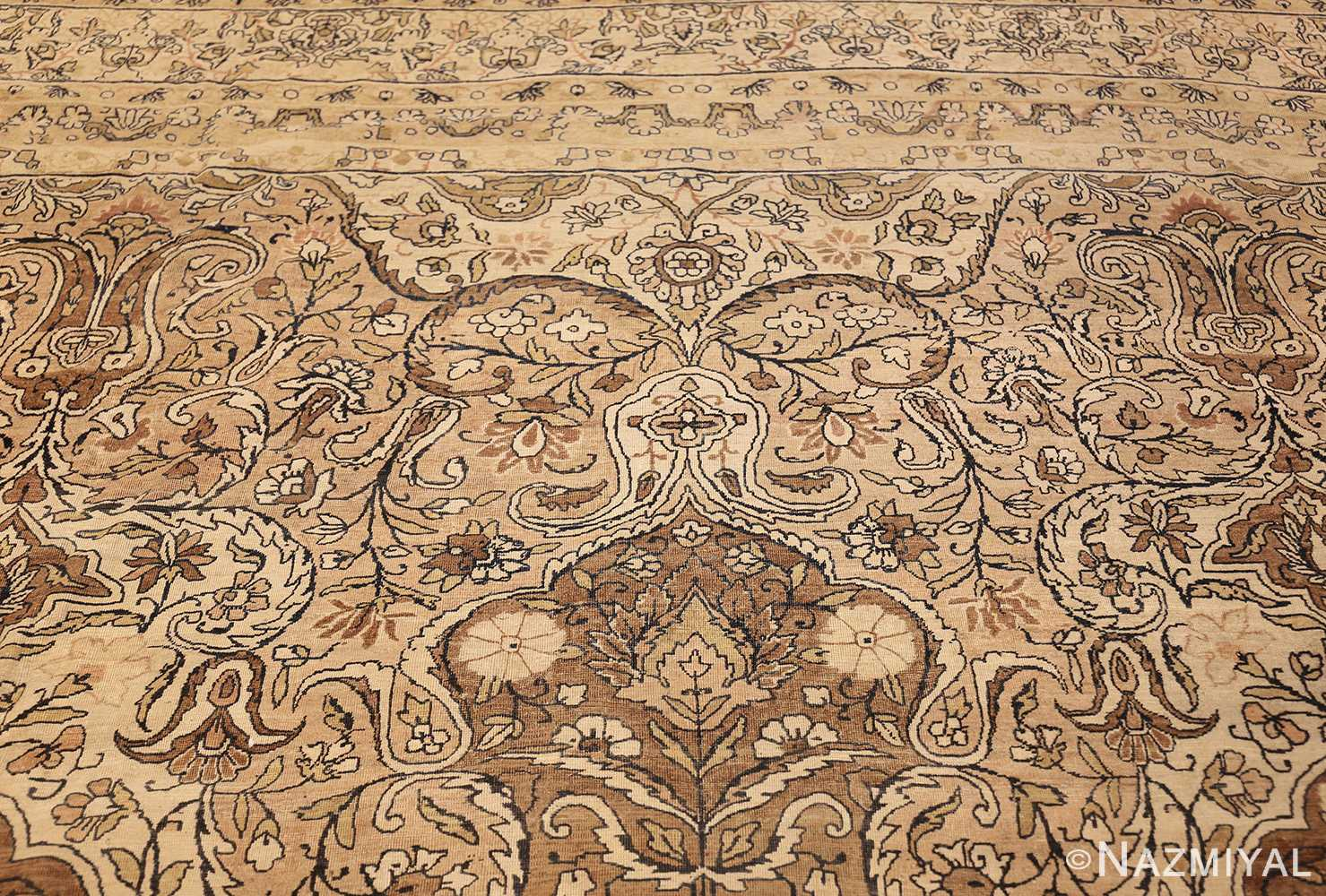 antique persian kerman rug 50147 top Nazmiyal
